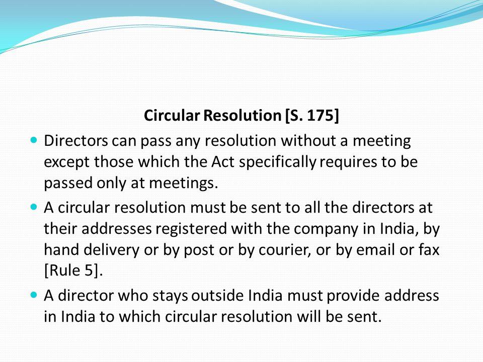 Circular Resolution [S. 175]